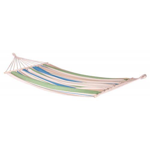 CHILLOUNGE® Green Bay - Jednoosobowy hamak z drążkiem