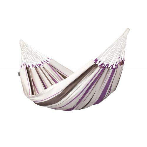 Caribeña Purple - Klasyczny hamak jednoosobowy wykonany z bawełny