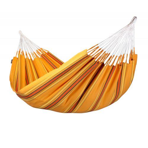 Currambera Apricot - Klasyczny hamak dwuosobowy wykonany z bawełny