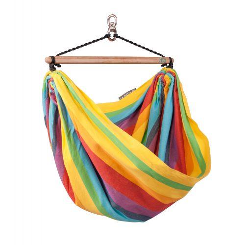 Iri Rainbow - Fotel hamakowy dla dzieci wykonany z bawełny