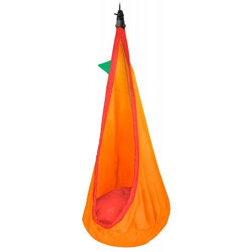Joki Foxy - Wiszące siedzisko dla dzieci wykonane z bawełny organicznej