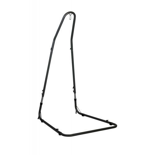 Mediterráneo Anthracite - Stojak do foteli hamakowych Comfort wykonany ze stali powlekanej proszkowo