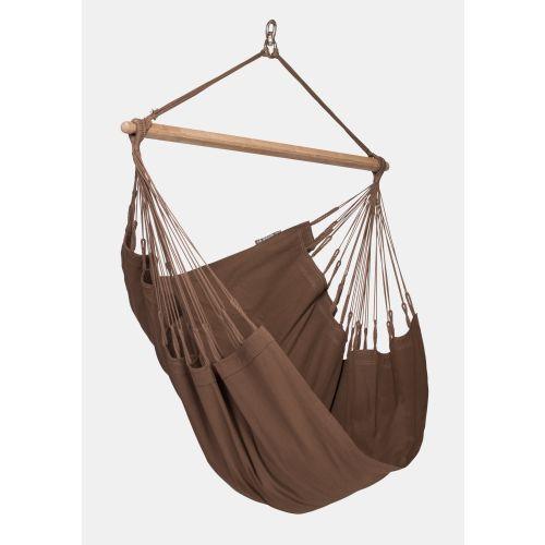 Modesta Arabica - Fotel hamakowy Basic wykonany z bawełny organicznej