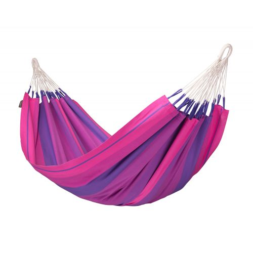 Orquídea Purple - Klasyczny hamak jednoosobowy wykonany z bawełny