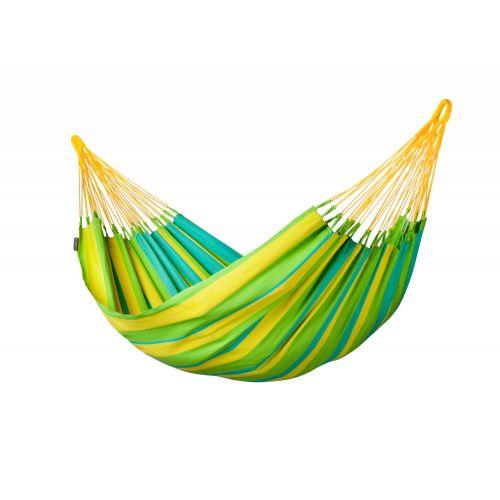 Sonrisa Lime - Klasyczny hamak jednoosobowy outdoor